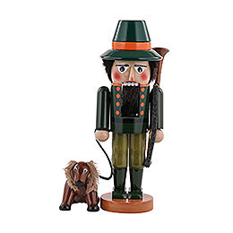 Nutcracker  -  Hunter with Dog  -  35cm / 14 inch