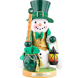 Nutcracker  -  Irish Snowman  -  32cm / 12.6 inch