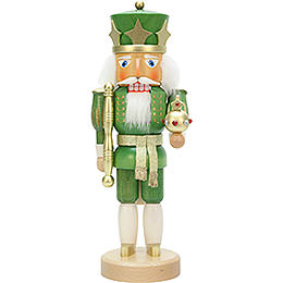 Nutcracker  -  King Green/Gold  -  37,5cm / 14.7 inch