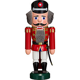 Nutcracker  -  Policeman Red  -  27cm / 11 inch