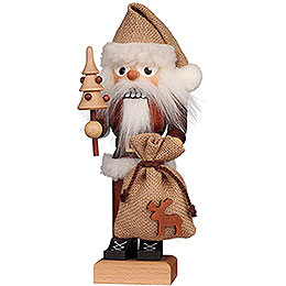 Nutcracker  -  Santa Natural  -  26cm / 10.2 inch