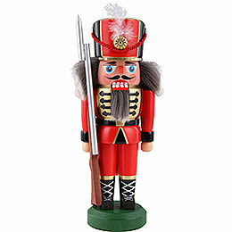 Nutcracker  -  Soldier, Red  -  22cm / 8.6 inch