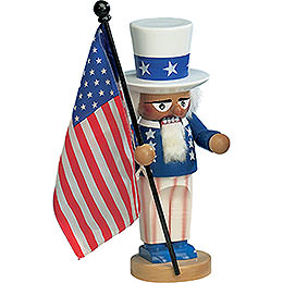 Nutcracker  -  Uncle Sam  -  30cm / 11,5 inch