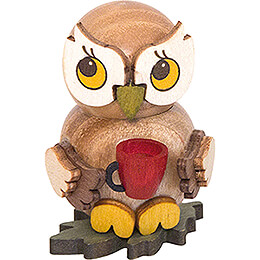 Owl Child with Cup  -  4cm / 1.6 inch