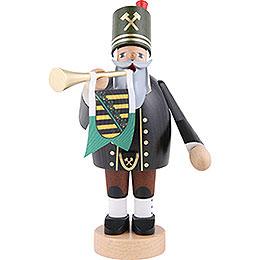 Räuchermännchen Bergmann mit Trompete  -  20cm