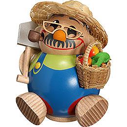 Räuchermännchen Gärtner  -  Kugelräucherfigur  -  11cm