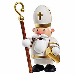 Räuchermännchen Heiliger Sankt Nikolaus  -  10cm