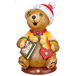 Räuchermännchen Hubiduu  -  Teddys Weihnachtsgeschichte  -  14cm
