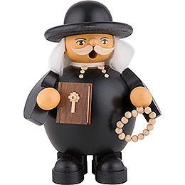 Räuchermännchen Pfarrer evangelisch  -  14cm