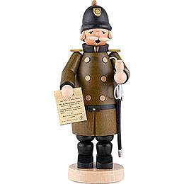 Räuchermännchen Polizist  -  18cm