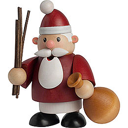 Räuchermännchen Weihnachtsmann  -  10cm