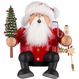 Räuchermännchen Weihnachtsmann  -  Kantenhocker  -  16cm