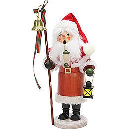 Räuchermännchen Weihnachtsmann mit Laterne  -  30,5cm