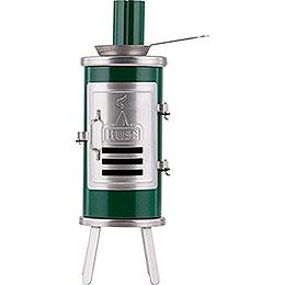 Räucherofen  -  Leimofen grün/schwarz  -  14,5cm