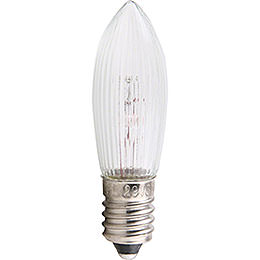 Rippled Bulb  -  E10 Socket  -  12V/5W