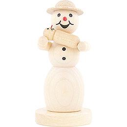 Schneefrau mit Baby  -  11cm