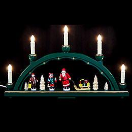 Schwibbogen Weihnachtsmann  -  48x28cm