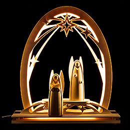 Seidel Arch Angels  -  31x33cm / 12.2x13 inch