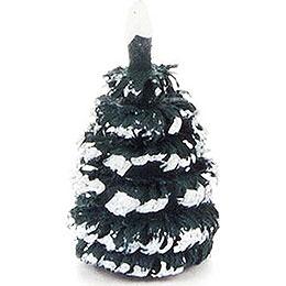 Seiffen Spruce  -  Green - White  -  2cm / 0.8 inch