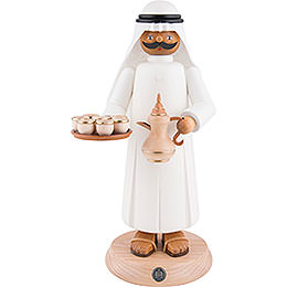 Smoker  -  Arabian with Smoking Coffee Pot  -  27cm / 11 inch
