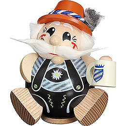 Smoker  -  Bavarian exclusive  -  Ball Figur  -  12cm / 4.7 inch