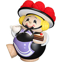Smoker  -  Black Forest Girl  -  Ball Figure  -  11cm / 4 inch