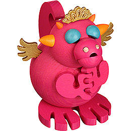 Smoker  -  Dragon Cindy  -  Ball Figure  -  12cm / 5 inch