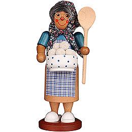 Smoker  -  Dumpling Woman  -  27cm / 10.6 inch