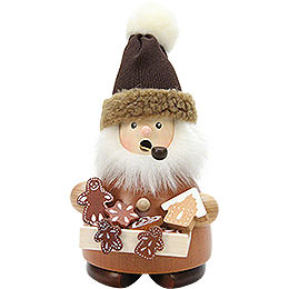 Smoker  -  Gingerbread Salesman Natural  -  17,5cm / 7 inch