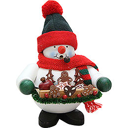 Smoker  -  Gingerbread Snowman  -  17,5cm / 7 inch