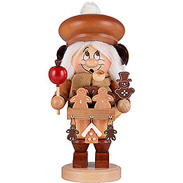 Smoker  -  Gnome Gingerbread Salesman  -  30cm / 12 inch