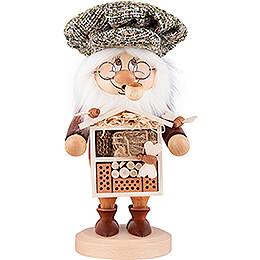 Smoker  -  Gnome Insect Lover  -  28cm / 11 inch