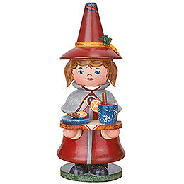 Smoker  -  Gnome Mulled Wine  -  14cm / 5.5 inch