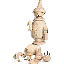 Smoker  -  Handicraft Set  -  17cm / 6.7 inch