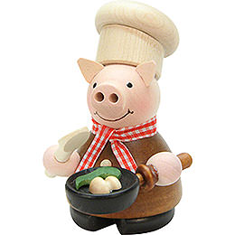 Smoker  -  Lucky Pig Cook Natural  -  10cm / 4 inch
