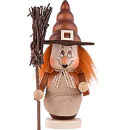 Smoker  -  Mini Gnome Witch  -  16cm / 6 inch