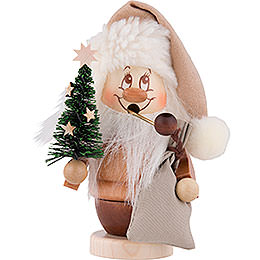Smoker  -  Mini Gnome with Tree  -  13,0cm / 5 inch
