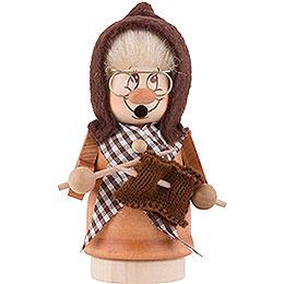 Smoker  -  Minignome Grandma  -  13cm / 5 inch