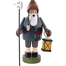 Smoker  -  Nightwatchman with Lantern  -  36cm / 14 inch