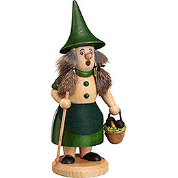 Smoker  -  Rooty - Dwarf Mushroom Lady Green  -  18cm / 9.1 inch