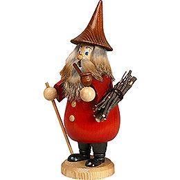 Smoker  -  Rooty - Dwarf Red  -  19cm / 7 inch