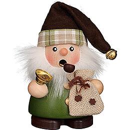 Smoker  -  Santa Claus Green  -  10,5cm / 4.1 inch
