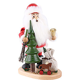 Smoker  -  Santa Claus with Christmas Tree  -  22cm / 9 inch