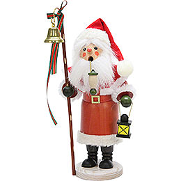 Smoker  -  Santa Claus with Lantern  -  30,5cm / 12 inch