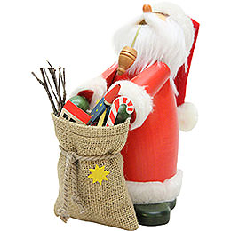 Smoker  -  Sleepy Head Santa Claus  -  18cm / 7.1 inch