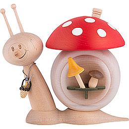 Smoker  -  Snail Sunny Mushroom Snail  -  16cm / 6.3 inch