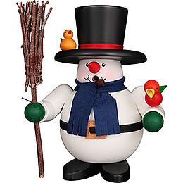 Smoker  -  Snowman  -  17cm / 6.7 inch