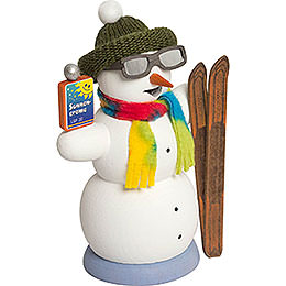 Smoker  -  Snowman Apres Ski  -  13cm / 5.1 inch