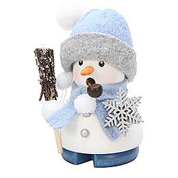 Smoker  -  Snowman 'Frosty'  -  9cm / 4 inch