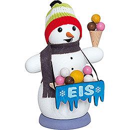 Smoker  -  Snowman Iceman  -  13cm / 5.1 inch